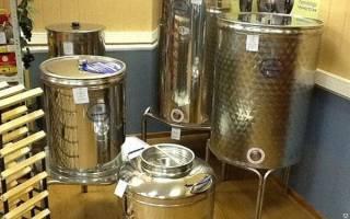 Емкость для брожения вина на торговой площадке Алиэкспресс и в интернет-магазинах, цена, видео