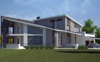 Односкатная крыша — устройство, проекты, конструкция, наклон, видео