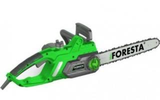 Обзор электропилы Foresta FS-2640S — технические характеристики, видео