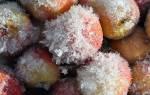 Заморозка яблок на зиму, что готовить из замороженных яблок, видео