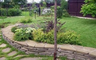 Сад на склоне — правила обустройства, рекомендации по высадке деревьев, кустарников, видео