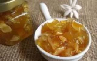 Варенье из патиссонов с лимоном на зиму, рецепты с добавлением апельсина, приготовление в мультиварке, фото, видео