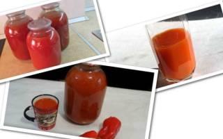 Томатный сок на зиму — рецепты через мясорубку, приготовление в домашних условиях, видео