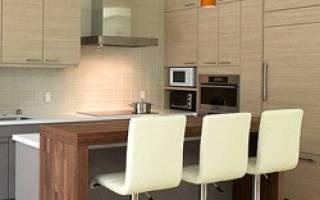 Барная стойка для кухни своими руками, виды, модификации, видео
