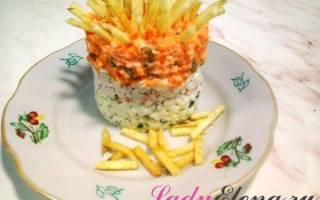 Закуска из крабовых палочек — пошаговые рецепты с фото, видео