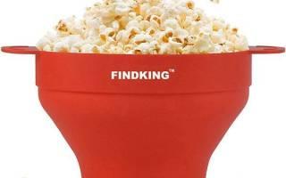 Силиконовая миска для попкорна из Китая, характеристика, цена, видео