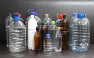 Как сделать клумбу из пластиковых бутылок — видео, фото