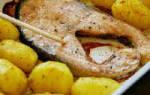 Горбуша, запеченная в духовке в фольге с картошкой, овощами, рецепты с фото, видео