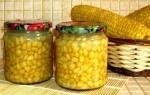 Кукуруза — рецепты удачной заготовки на зиму, консервация зернами и целым кочаном, видео