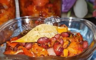 Салат с фасолью на зиму — вкусные рецепты приготовления греческого сала, фасоли со свеклой или кабачками, видео