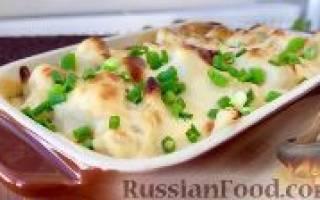 Запеканка из цветной капусты — рецепты пошагово с фото, видео