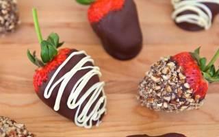 Клубника в шоколаде — рецепты приготовления разными способами