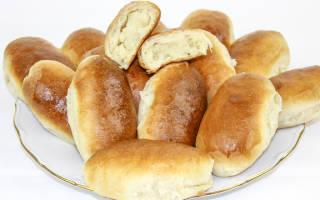 Пирожки с картошкой жареные, в духовке — пошаговые рецепты с фото, видео