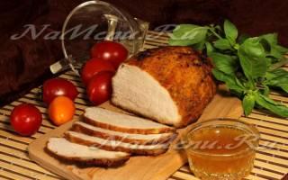 Мясо в горчице запеченное в духовке, маринад с добавлением меда, майонеза, видео
