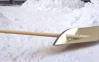 Лопата для снега своими руками из фанеры, металла, видео