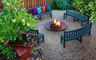 Как создать уютную зону отдыха на даче, подобрать мебель и декор, видео