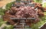 Маринад для шашлыка из свинины, баранины — подборка рецептов