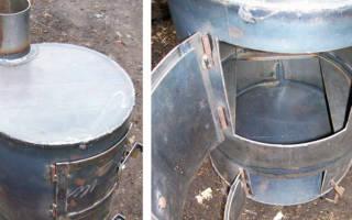 Печь для гаража своими руками — газовая, кирпичная, видео