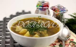 Суп из свежих шампиньонов с картофелем — пошаговый рецепт с фото, видео