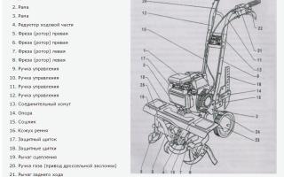 Культиватор Крот бензиновый, инструкция по эксплуатации, запчасти, замена двигателя, ремонт своими руками, цена, видео