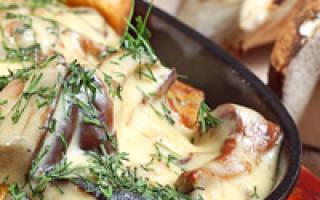 Жареная картошка с грибами на сковороде, в мультиварке, рецепты, фото, видео