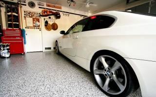 Пол в гараже — как сделать из бруса, щебня, тротуарной плитки, видео