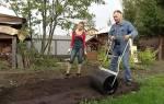 Каток для газона ручной, сделанный своими руками, фото, видео