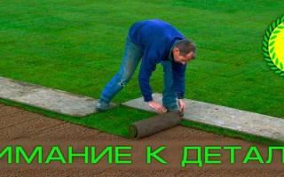 Как подготовить почву для газона видео