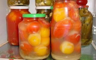 Помидоры в яблочном соке — рецепты приготовления на зиму без стерилизации и со стерилизацией, видео