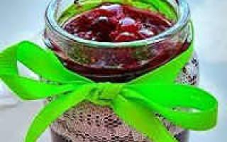 Простой рецепт варенья из брусники на зиму без варки и с кипячением