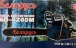 Бензопила «Беларусь БП-4200М» — технические характеристики инструмента, видео