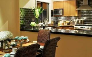 Отделка стен на кухне — виды, выбор материалов, варианты, видео