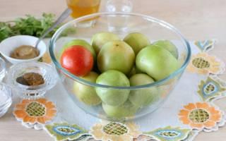 Как использовать зеленые помидоры, необычные рецепты