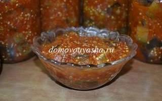 Баклажаны в томатном соке на зиму — рецепты жаренных, маринованных, острых, с чесноком баклажан, видео