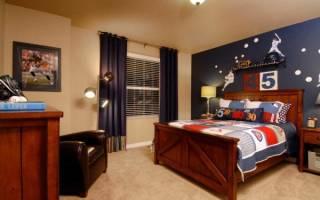 Комната для мальчика — оформление стен и пола, освещение, дизайн, подбор мебели, видео