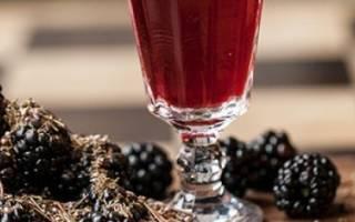 Ежевичное вино — рецепт приготовления в домашних условиях, видео